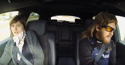 Sebastian Vettel lehrt arglose Kunden das Fürchten