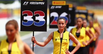 Keine Nummernmädchen mehr bei der Formel 1